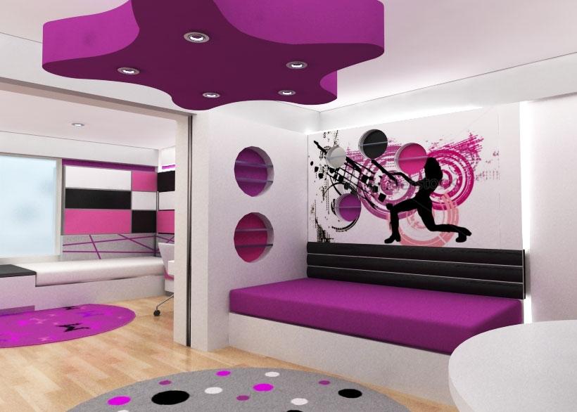 Decoraci n de interiores en recamaras for Imagenes de como decorar mi cuarto
